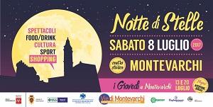Notte di stelle a Montevarchi con un ricco cartellone di eventi