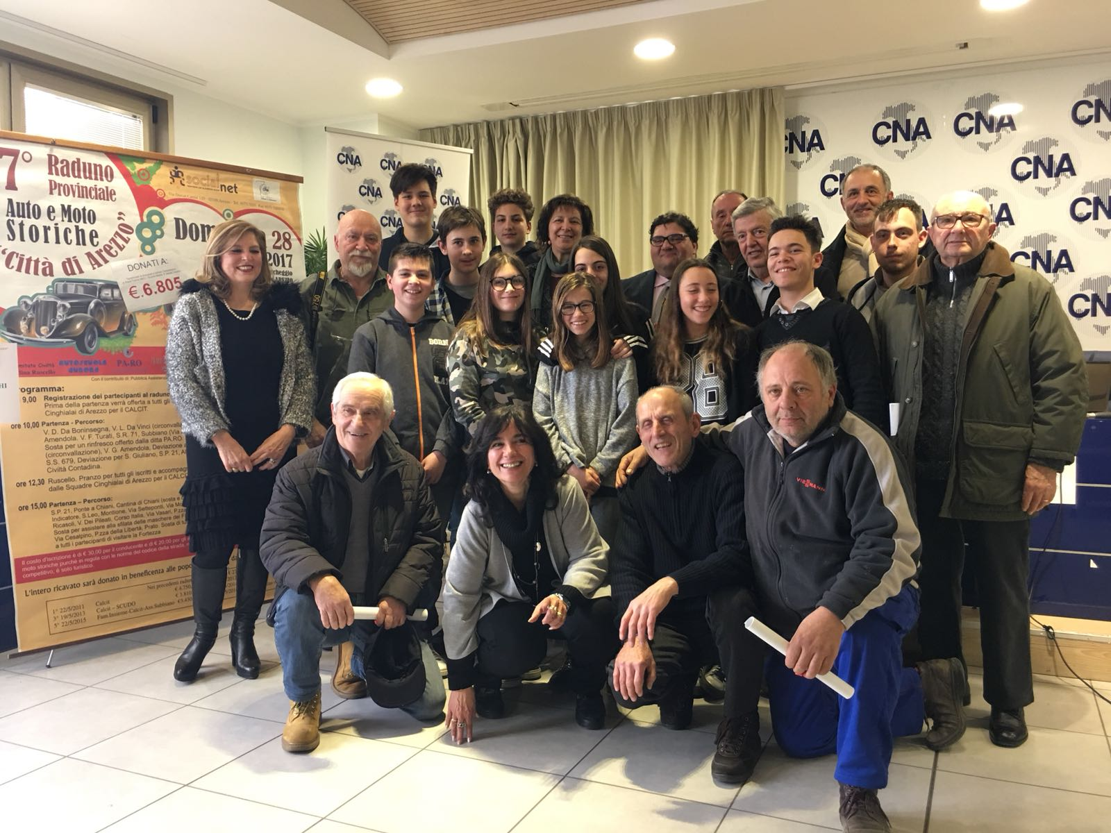 Ponte di solidarietà tra Arezzo e Macerata