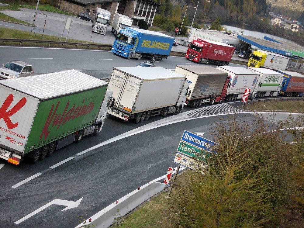 """CNA FITA: """"Ripristinare al Brennero la libera circolazione dei tir. Dall'Austria grave violazione delle regole"""""""